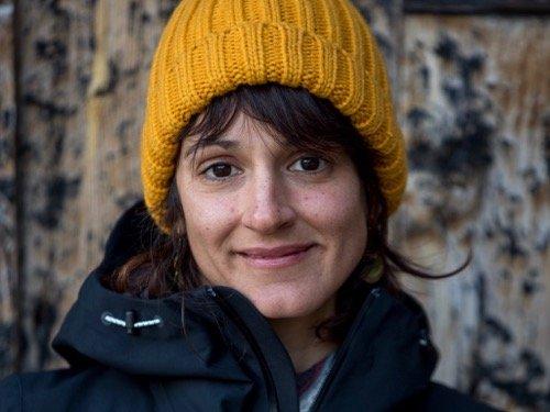 Paloma Alonso freeride Ski Zenit guide